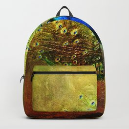 Peacock in Full Color Backpack