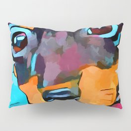 Miniature Pinscher Pillow Sham