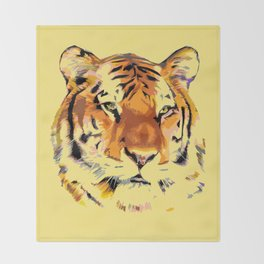 My Tiger Throw Blanket
