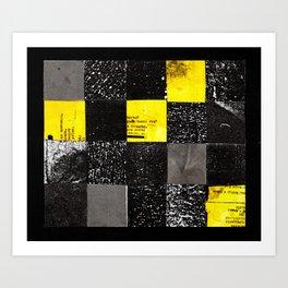 square collage Art Print
