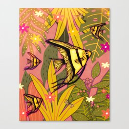 Angelfish #3 Canvas Print