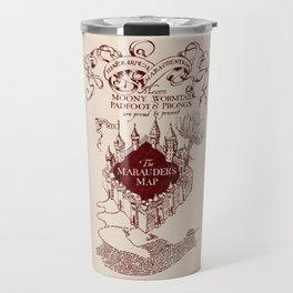 Marauder's Map Travel Mug
