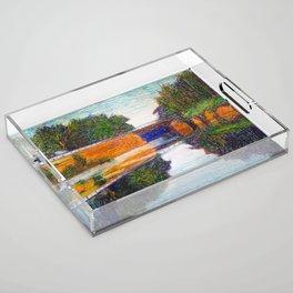 Newmarket Mill Bridge Acrylic Tray