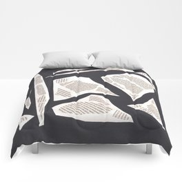 collage black 2261 Comforters