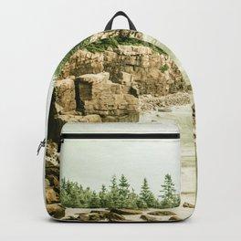 Acadia National Park Maine Rocky Beach Backpack