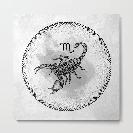 Scorpio Metal Print