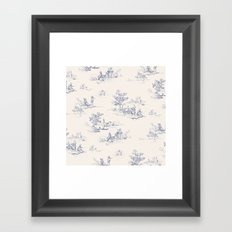 Animal Jouy Framed Art Print