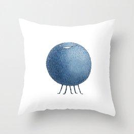 Poofy Moofus Throw Pillow