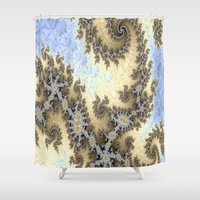bar Shower Curtains featuring Sand Bar by BohemianBound