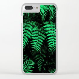 Emerald Triplets Clear iPhone Case