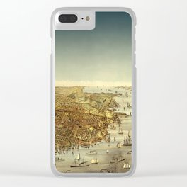 San Francisco Waterfront Clear iPhone Case