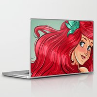 ariel Laptop & iPad Skins featuring ariel by Lisa ♥