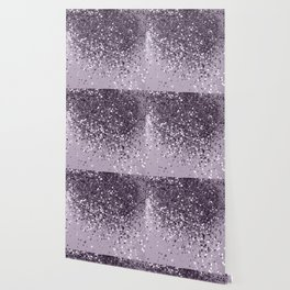 Sparkling Lavender Lady Glitter #2 #shiny #decor #art #society6 Wallpaper