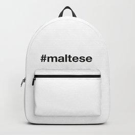 MALTESE Hashtag Backpack