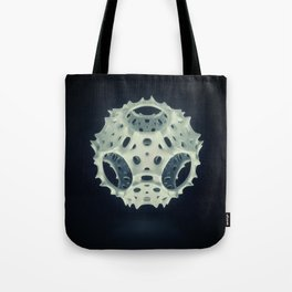 Icosahedron Bloom Tote Bag