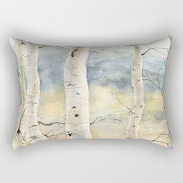 Tender Birch Forest Rectangular Pillow