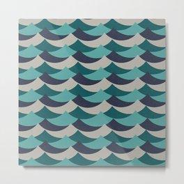Waves Of Fun Metal Print