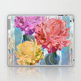 Trio of Peonies - Summer Pastels Laptop & iPad Skin