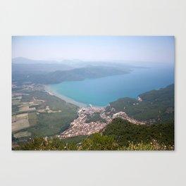 The Gulf of Gökova and Akyaka Town Canvas Print