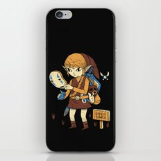 you got the no face mask! iPhone Skin