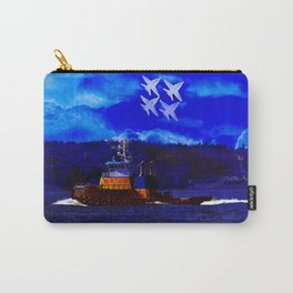 Smoke Over Puget Sound Carry-All Pouch