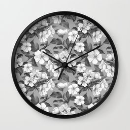 sweet floral Wall Clock