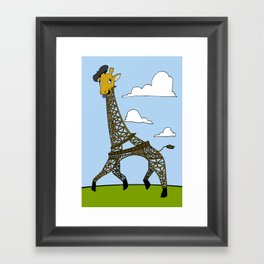 Gireffel Tower Framed Art Print