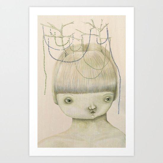 Left Hanging Art Print