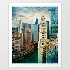 Towers Art Print