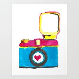 Love Snap Art Print
