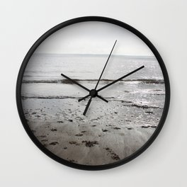 Broughty Ferry beach 3 Wall Clock
