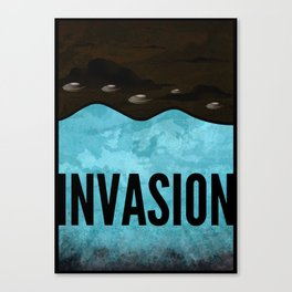 Invasion - Autumn of Humanity Canvas Print