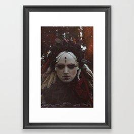 Red Queen Framed Art Print