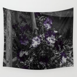 First Snow Of The Season Wall Tapestry