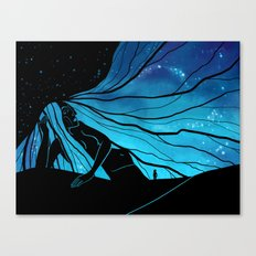 Meeting the Goddess Canvas Print