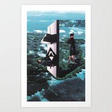 time foyer Art Print