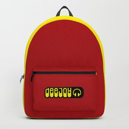DeeJay Music Quote Backpack