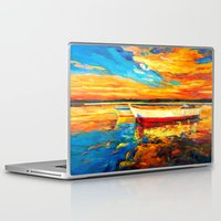 boat Laptop & iPad Skins featuring Boat by BOYAN DIMITROV