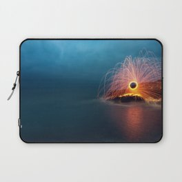 Sparking into the Sea Laptop Sleeve