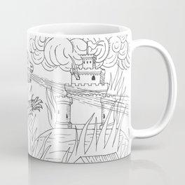Medieval Gojira Coffee Mug
