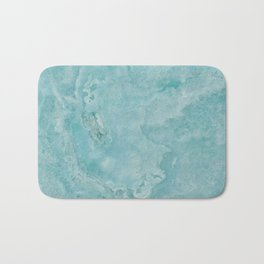 Turquoise Sea Marble Bath Mat