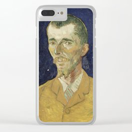 Eugene Boch by Vincent van Gogh Clear iPhone Case