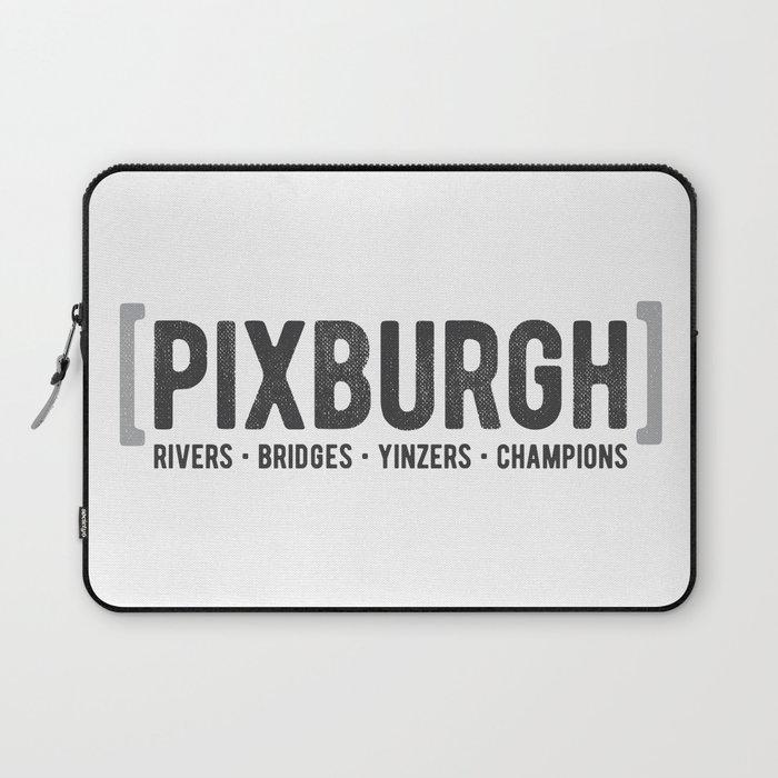 Defining Pixburgh Laptop Sleeve