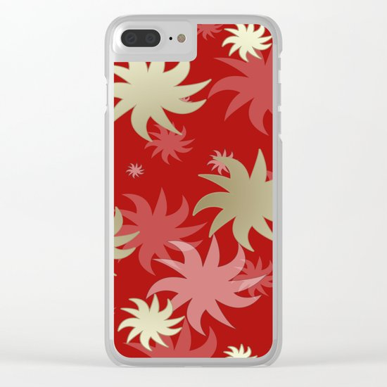 CHRISTMAS STARS 04 Clear iPhone Case