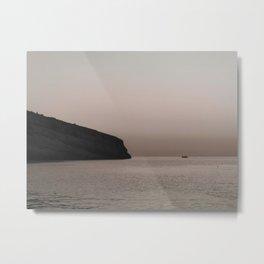 Tranquil Sea Metal Print