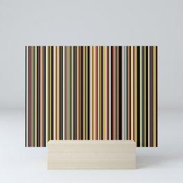 Old Skool Stripes - The Dark Side Mini Art Print