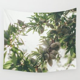 Almond Tree Wall Tapestry