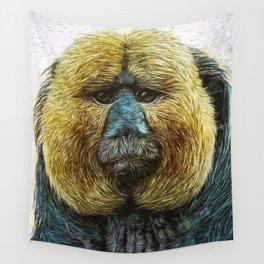 Animaline - Saki monkey Wall Tapestry