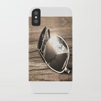 sunglasses iPhone & iPod Cases featuring Sunglasses by Cs025