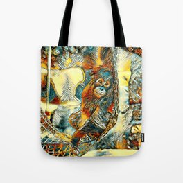AnimalArt_OrangUtan_20170605_by_JAMColorsSpecial Tote Bag
